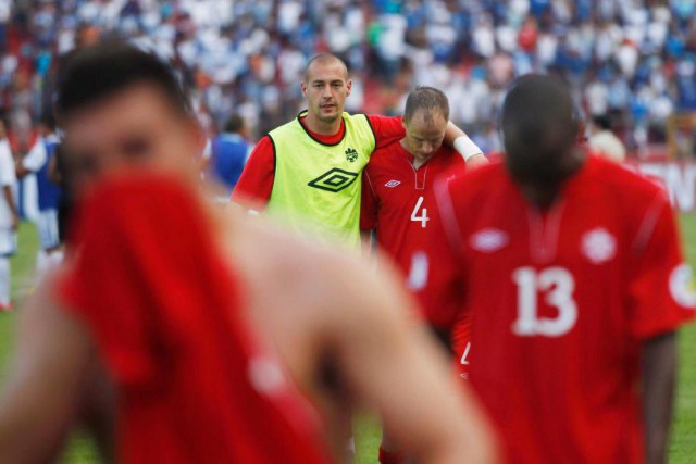 Le match de 2012 contre le Honduras a... (Photo Esteban Felix, archives La Presse Canadienne)