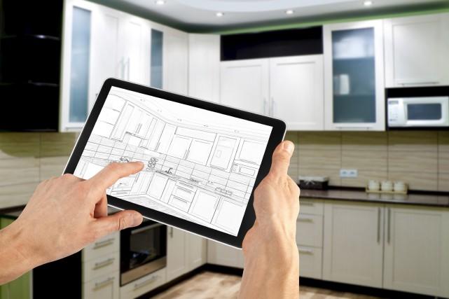 Les applications peuvent aider àdessiner les plans d'une... (123rf, Volodimir Kalina)