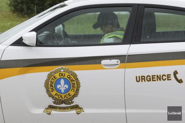 La vigilance des policiers du poste autoroutier de Drummondville a permis... (Archives Le Droit)