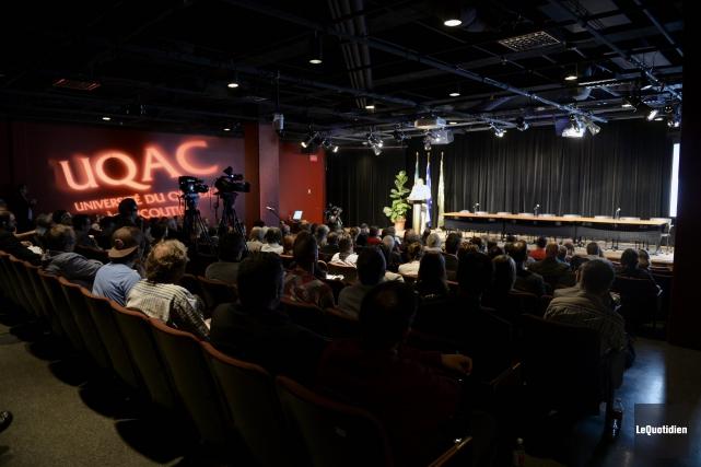 Le Forum Pacte social Aluminium s'est ouvert vendredi... (Photo Le Quotidien, Jeannot Lévesque)