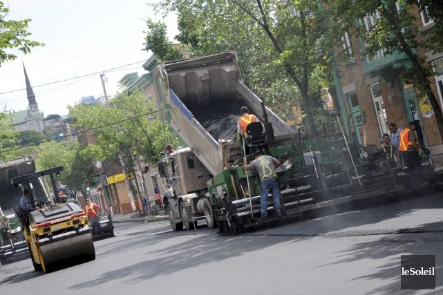 L'association Bitume Québec a lancé un cri d'alarme... (Photothèque Le Soleil)