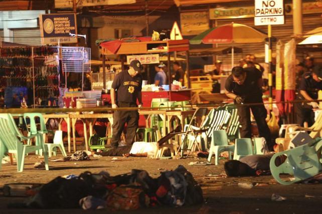 L'explosion a eu lieu près de l'un des... (Photo Manman Dejeto, AP)