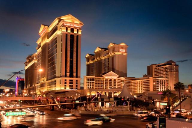 Le mythique Caesars Palace de Las Vegas fête... (PHOTO BERNARD BRAULT, ARCHIVES LA PRESSE)