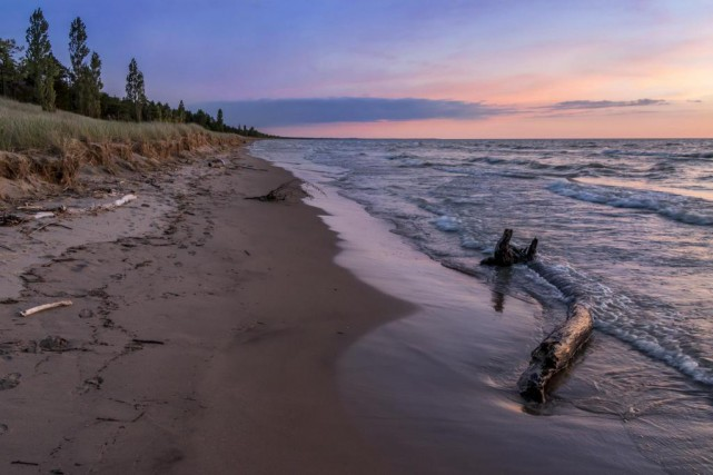 Le sud du lac Huron, en Ontario, a... (Photo Thinkstock)