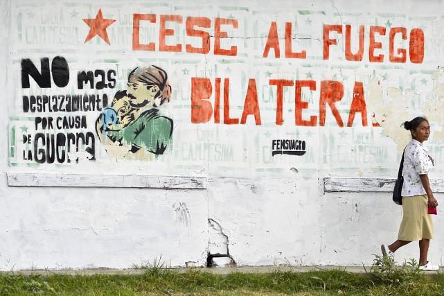 Le dimanche 2octobre, les électeurs sont appelés à... (PHOTO LUIS ROBAYO, ARCHIVES AFP)