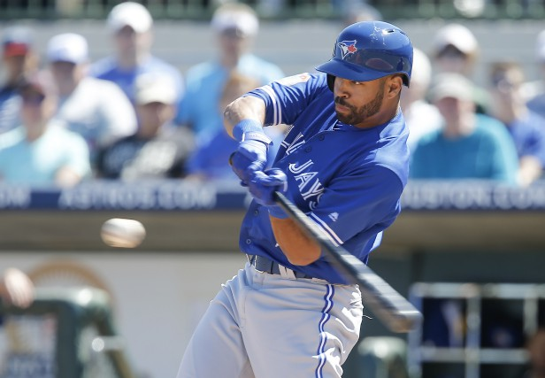 Dalton Pompey... (PHOTO Reinhold Matay, USA Today Sports)