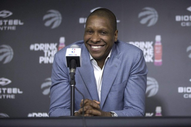 Masai Ujiri... (PHOTO Chris Young, PC)