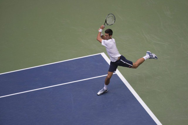 Novak Djokovic... (PHOTO DON EMMERT, AFP)