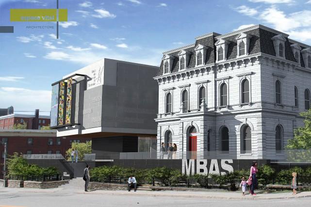 Le projet d'agrandissement du musée des beaux arts suscite les passions. Bien... (Espace vital Architecture)