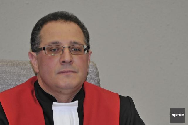 Le juge Jean Hudon de la Cour du... (Archives Le Quotidien)