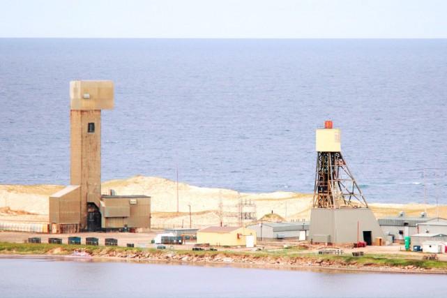 Le terrain de Mines Seleine, aux Îles-de-la-Madeleine... (Fournie par Mines Seleine)