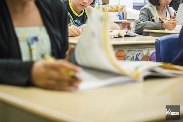 Les enseignants de la CSVDC n'apprécient pas les... (Archives La Presse)