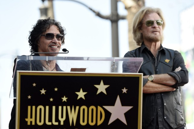 John Oates et Daryl Hall... (PHOTO Chris Pizzello, AP)