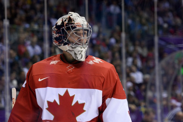 Carey Price a remporté la médaille d'or à... (Archives, AFP)
