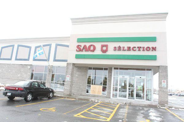 La majorité des succursales de la SAQ seront... (Patrick Woodbury, Archives LeDroit)