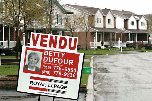 Les ventes résidentielles à Gatineau ont enregistré un bond de 21% au mois... (Archives, LeDroit)