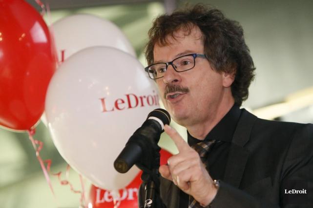 Le président et éditeur du Droit, Pierre-Paul Noreau... (Simon Séguin-Bertrand, Archives LeDroit)