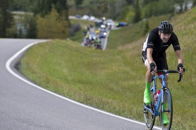 Membre d'Équipe Canada menée par Antoine Duchesne, Alexis... (Photo La Presse canadienne)