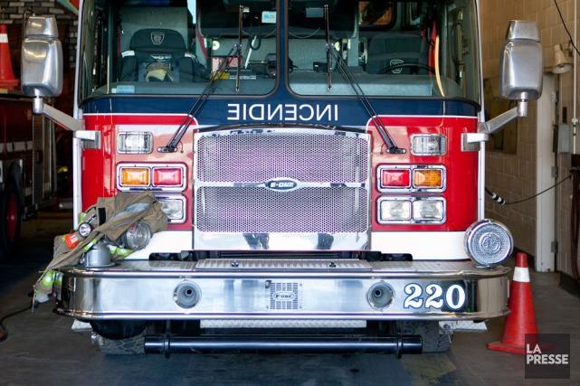 Tout indique que les flammes ont pris naissance... (PHOTO ARCHIVES LA PRESSE)