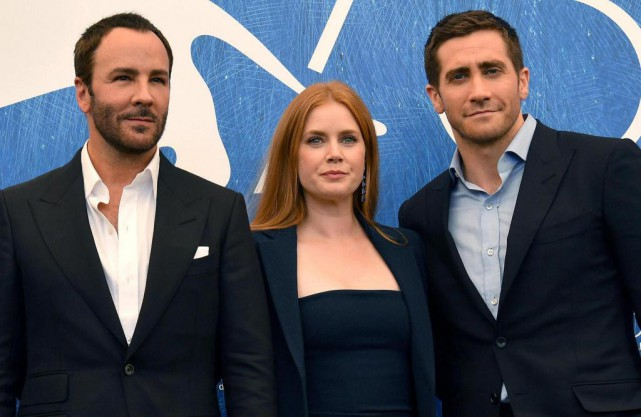 Nocturnal Animals, de Tom Ford (à gauche), décrit... (Photo Ettore Ferrari, Associated Press)