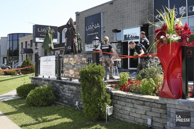 LeCafé Liana, à l'intersection du boulevard Maurice-Duplessis et... (PHOTO ROBERT SKINNER, LA PRESSE)