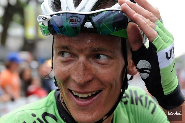 Robert Gesink... (PHOTO ERICK LABBÉ, ARCHIVES LE SOLEIL)