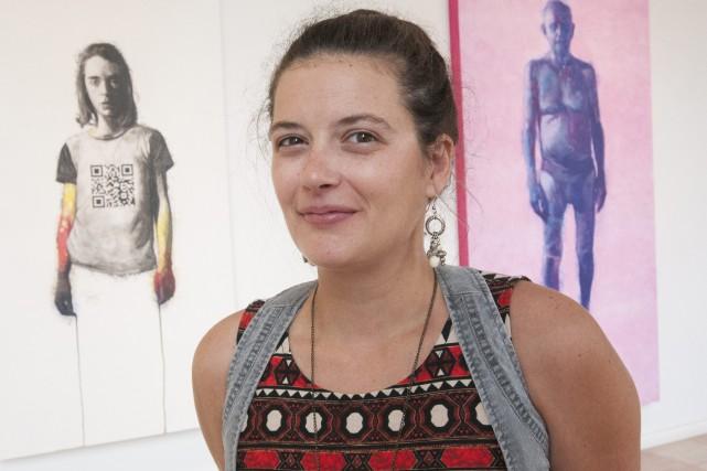Coordonnatrice artistique du Centre Bang, Anick Martel affirme... (Photo Le Progrès-Dimanche, Rocket Lavoie)