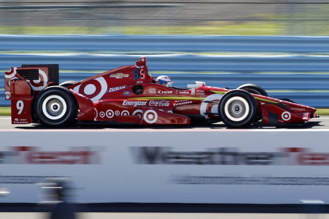 Scott Dixon... (PHOTO Mel Evans, AP)