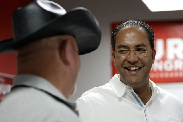 Will Hurd achève son premier mandat en tant... (Photo AP)