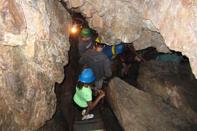 La caverne ne compte que sept chauves-souris. Elle... (Archives Le Progrès-Dimanche, Isabelle Tremblay)