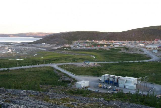 La centrale deKangiqsualujjuaq.... (Photo fournie par Hydro-Québec)