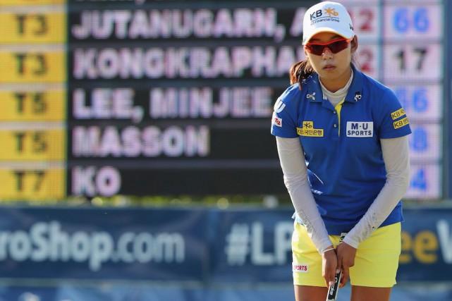 La Sud-Coréenne Mi Hyang Lee... (La Presse canadienne, Dave Chidley)