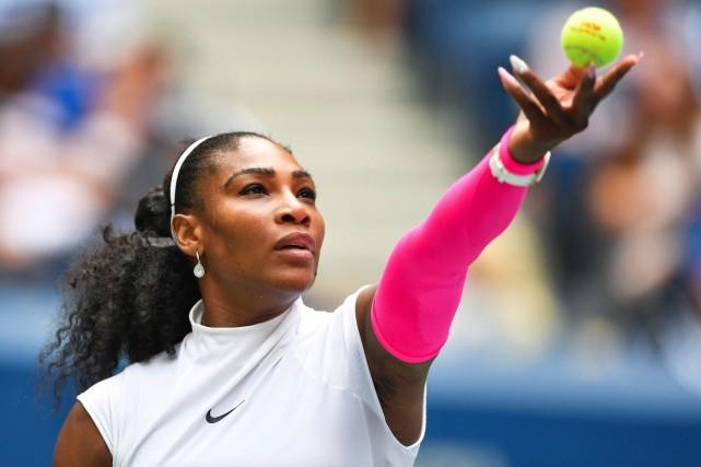 Serena Williams n'a fait qu'une bouchée de la... (AFP, EDUARDO MUNOZ ALVAREZ)