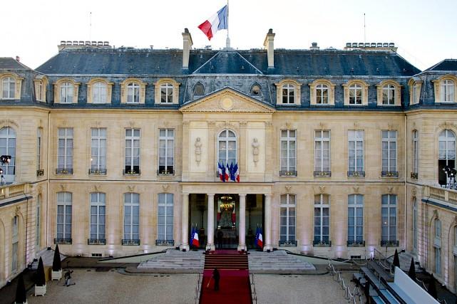Le palais présidentiel l'Élysée à Paris... (PHOTO ALAIN JOCARD, ARCHIVES AFP)