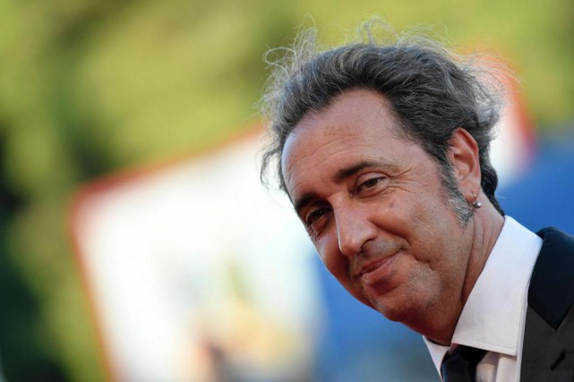 Le réalisateur Paolo Sorrentino et sa production The Young... (Photo TIZIANA FABI, Agence France-Presse)