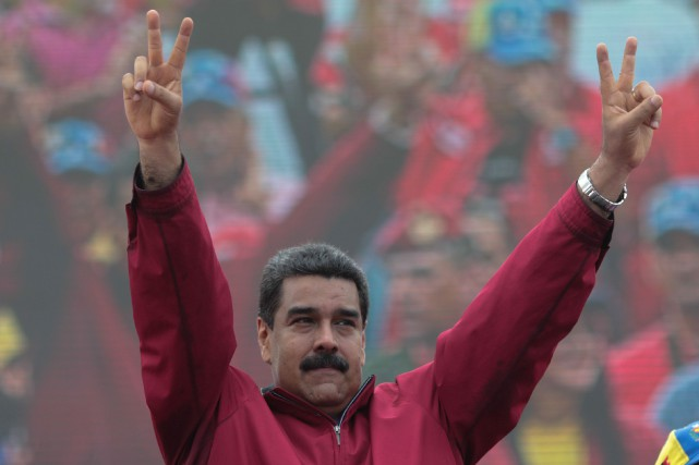 Nicolas Maduro... (PHOTO REUTERS)