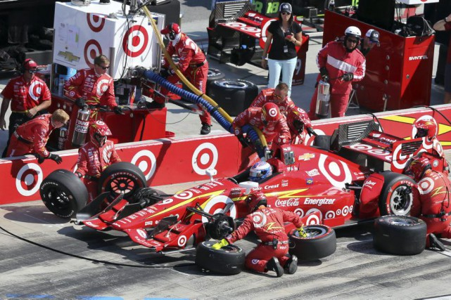 Scott Dixon... (Photo AP)