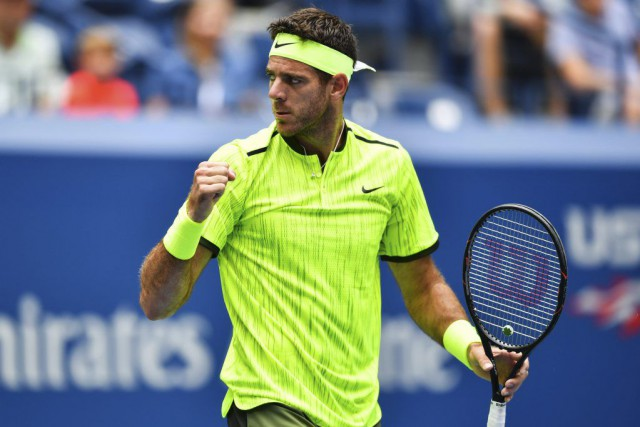 Juan Martin del Potro a remporté les Internationaux... (PHOTO EDUARDO MUNOZ ALVAREZ, AFP)
