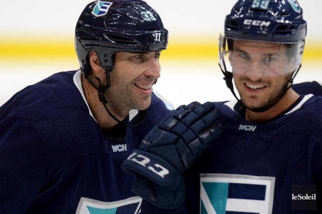 Le défenseur slovaque des Bruins de Boston, Zdeno... (Le Soleil, Erick Labbé)