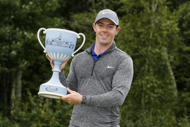 Rory McIlroy a remportésa 20evictoire en carrière à... (PHOTO MICHAEL DWYER, AP)