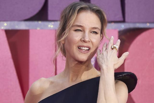 Renee Zellweger,qui incarne Bridget Jones depuis le premier... (AFP, Niklas Halle'n)