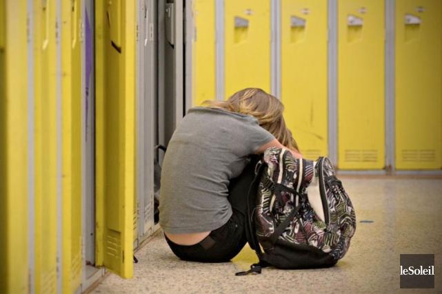 Le processus inflammatoire déclenché par un stress social comme l'intimidation... (Photo Pascal Ratthé, archives Le Soleil)
