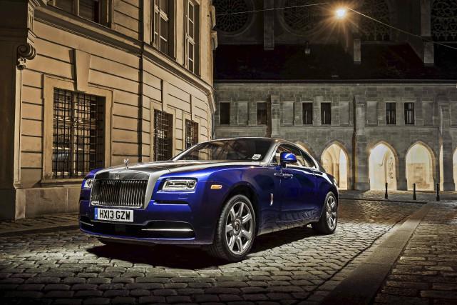 Rolls-Royce Wraith... (fournie par Rolls Royce)