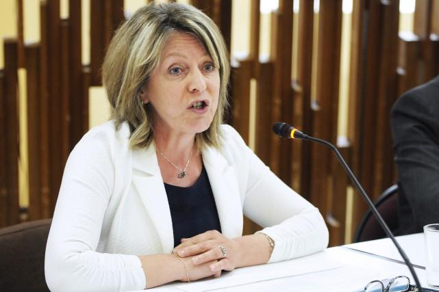 Christine Boivin, conseillère municipale de Lac-Kénogami, est l'auteure... (Mariane L. St-Gelais)