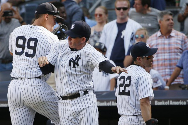 Jacoby Ellsbury a cogné un circuit de deux points en première manche et a... (Kathy Willens, Associated Press)