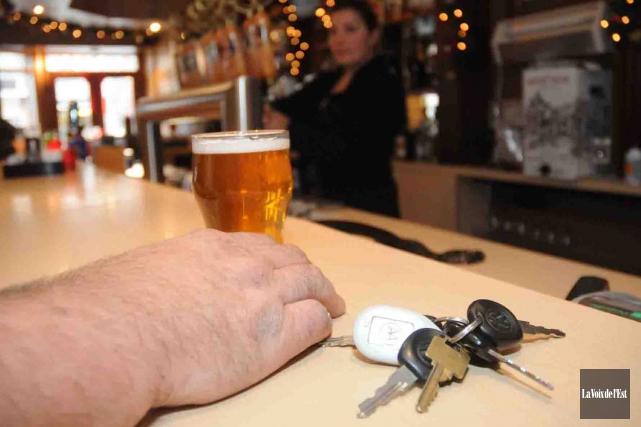 Les personnes coupables d'une infraction liée à l'alcool... (Archives La Voix de l'Est)