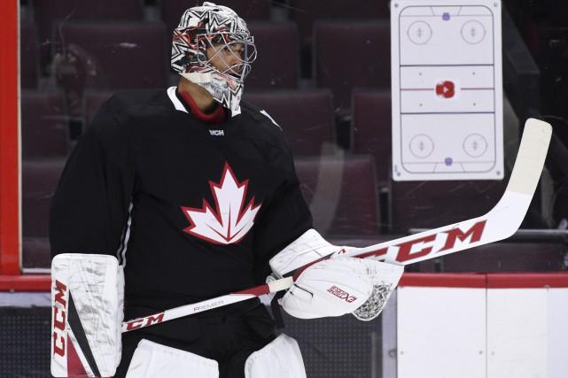 Carey Price, qui n'a pas joué un match... (La Presse canadienne, Sean Kilpatrick)