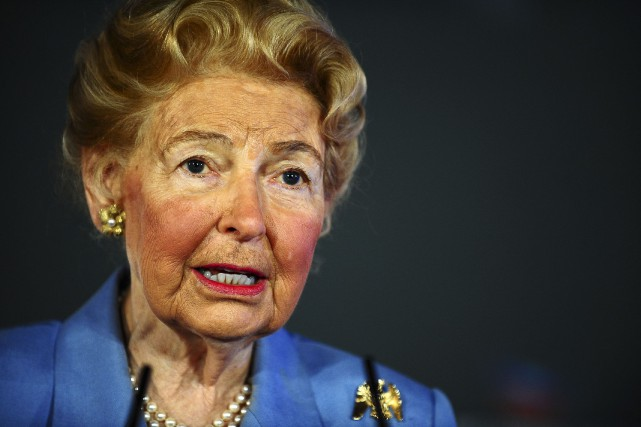 Phyllis Schlafly... (Photo archives Reuters)