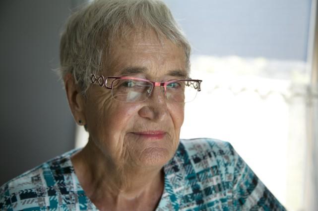 Suzanne Tessier, une Sherbrookoise ayant fait partie de... (Spectre média, René Marquis)