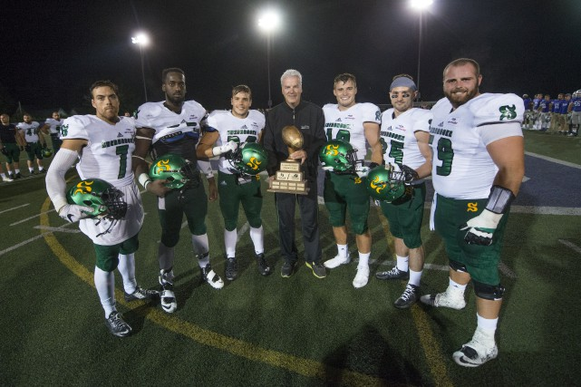 Le Vert & Or de l'Université de Sherbrooke... (Spectre média, Julien Chamberland)
